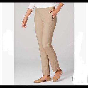 J Jill essential slim pull on ankle pant leggings
